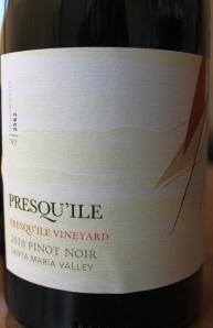 Presqu'ile Pinot